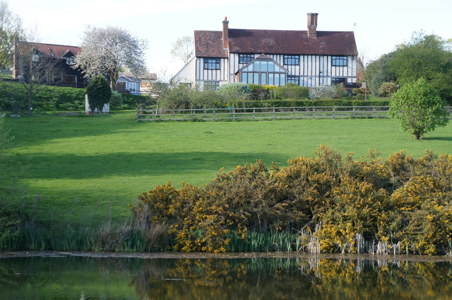 View from the back of the farm